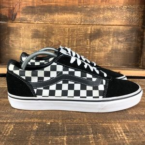 Men's Vans Old Skool Low Checkerboard Shoes Sz 9.5